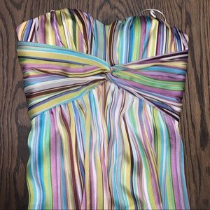 Colorful striped maxi dress • Jessica Simpson